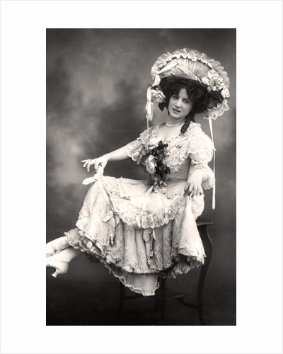 Fanny Dango (1878-1972), singer and dancer by Foulsham and Banfield
