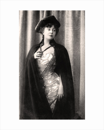 Olga Nethersole (c1863-1951), English actress and theatre producer by Rotary Photo