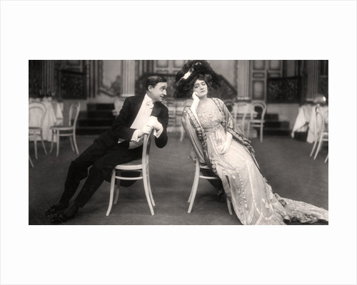 Lily Elsie and Joseph Coyne in The Merry Widow by Foulsham and Banfield
