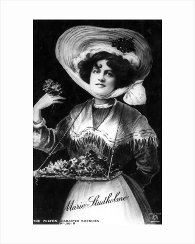 Marie Studholme (1875-1930), English actress by Milton Character Sketches