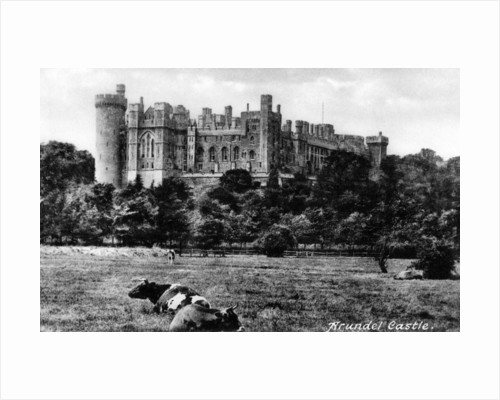 Arundel Castle, West Sussex by National Maritime Museum