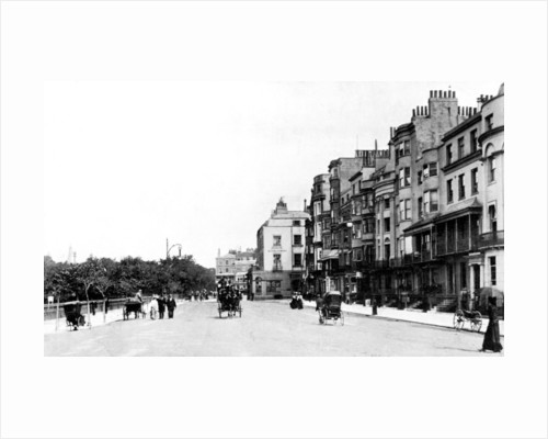 The Old Steine, Brighton, Sussex by Anonymous