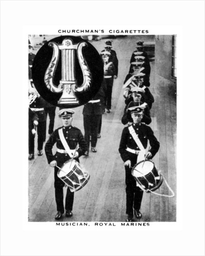 Musician, Royal Marines by WA & AC Churchman