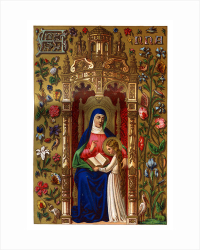 St Anne by Anonymous