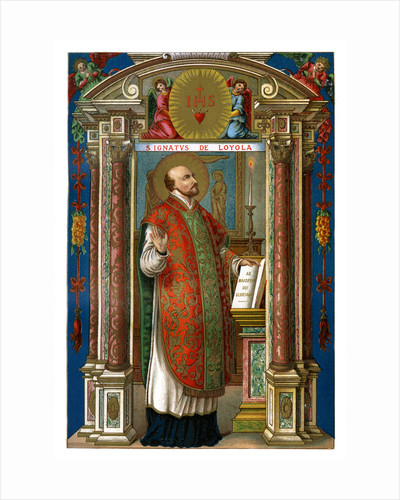 St Ignatius of Loyola by Anonymous