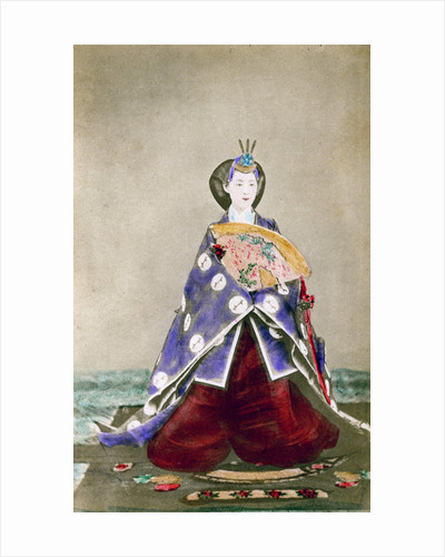 Haruho, Empress of Japan by Uchida Kyuichi