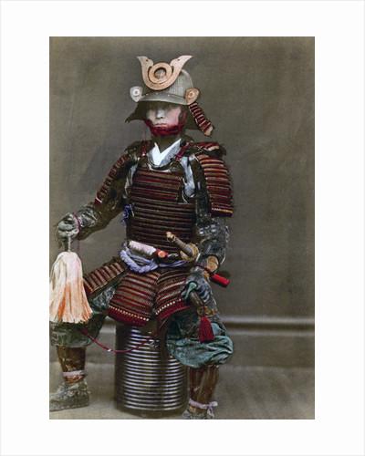 A samurai in armour, Japan by Felice Beato