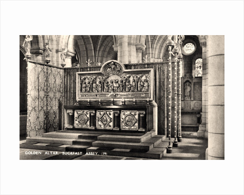 Golden Altar, Buckfast, Abbey by Anonymous