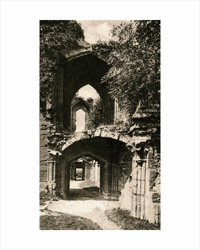 Entrance to the banqueting hall, Kenilworth Castle, Warwickshire by Anonymous