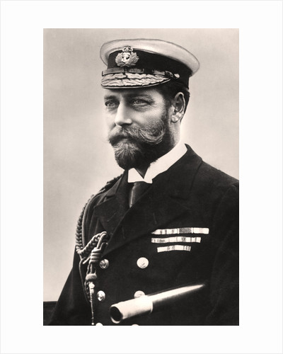 King George V (1865-1936) by Rotary Photo