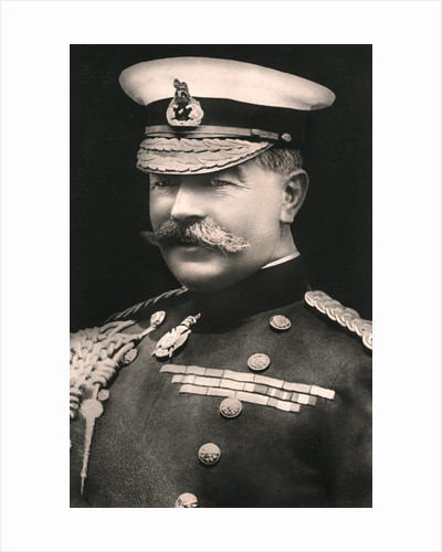 Field Marshal Earl Kitchener (1850-1916) by Russell & Sons