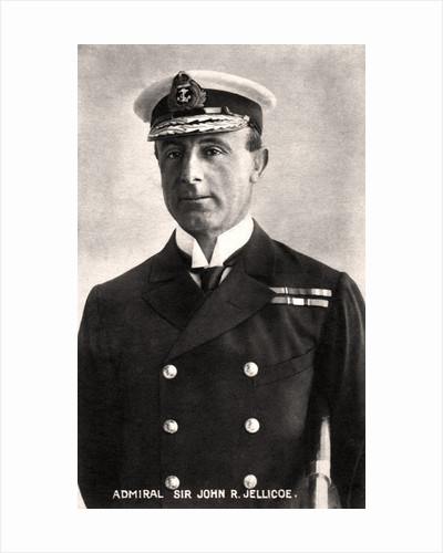 Admiral Sir John Rushworth Jellicoe by Anonymous