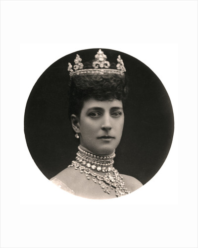 Queen Alexandra (1844-1925), queen consort to King Edward VII by Rotary Photo