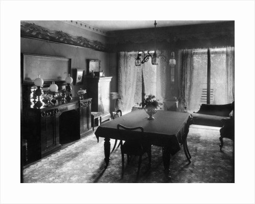 Edwardian dining room by Anonymous