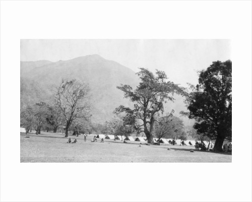 British army encampment, Kalsi, India by Anonymous