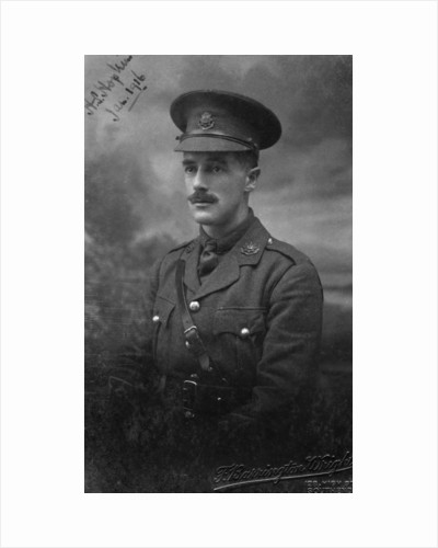 Lieutenant Hopkins, January 1916 by Anonymous
