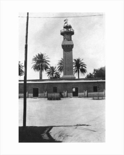Block tower, 31st British general hospital, Baghdad, Mesopotamia, WWI by Anonymous
