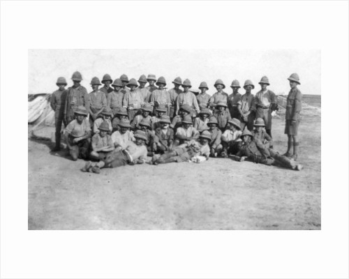 British army C group detachment, Mesopotamia, WWI by Anonymous