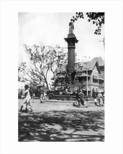 Parsee's memorial fountain, Mumbai, India by Anonymous