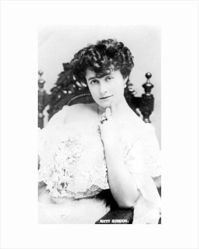 Kitty Gordon (1878-1974), English actress by Anonymous
