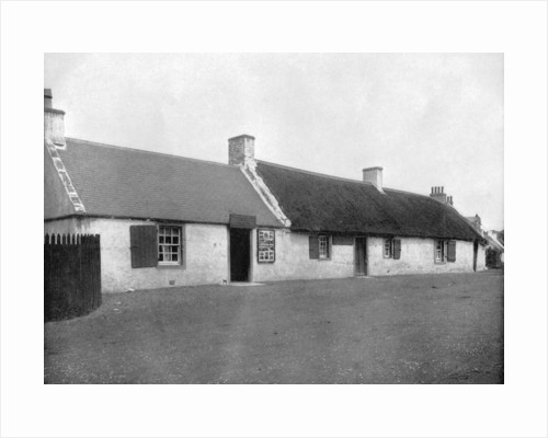 Burns Cottage, Scotland by John L Stoddard