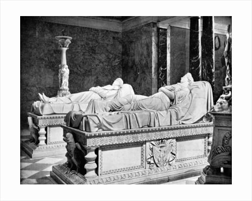 Mausoleum at Charlottenburg, Berlin, Germany by John L Stoddard