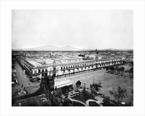Panorama of the City of Mexico by John L Stoddard
