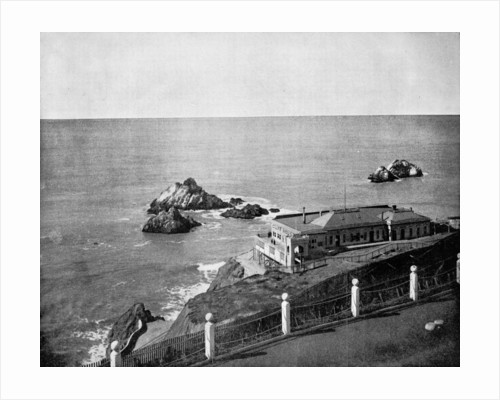 Cliff House and Seal Rocks, Golden Gate, California, USA by John L Stoddard