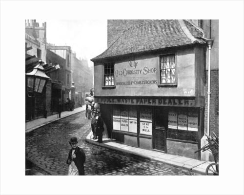 Old Curiosity Shop, London by John L Stoddard