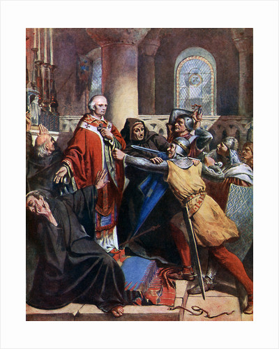 Death of Becket by John Cross