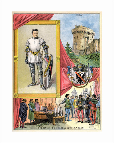 Bertrand du Guesclin, Breton knight by Gilbert