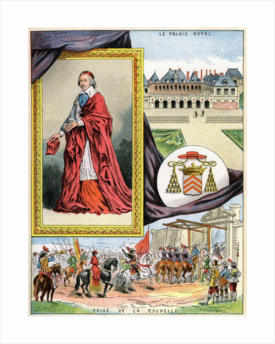 Cardinal Richelieu by Gilbert