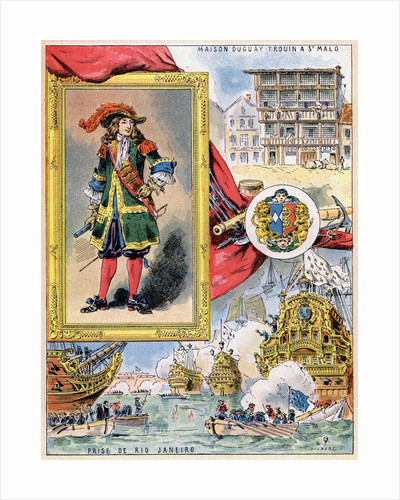 René Duguay-Trouin, French corsair of Saint-Malo by Gilbert
