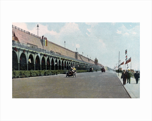 Madeira Road motor track, Brighton, East Sussex by Anonymous