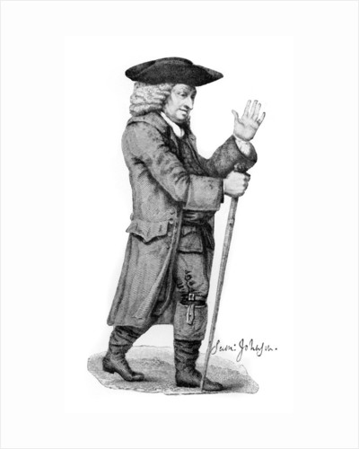 Dr Johnson, English literary figure by Thomas Trotter