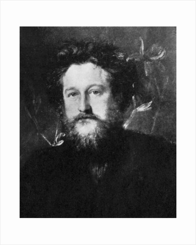 William Morris, English artist, writer, socialist and activist by Anonymous