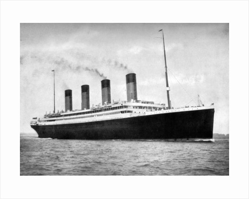 RMS 'Olympic', White Star Line ocean liner by FGO Stuart
