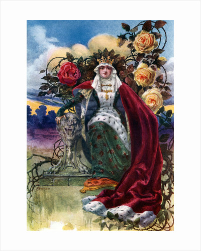 A Queen of Roses by JH Valda