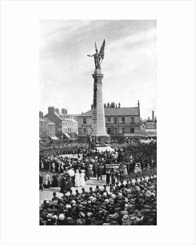 Unveiling the Northumberland War Memorial by George Frank