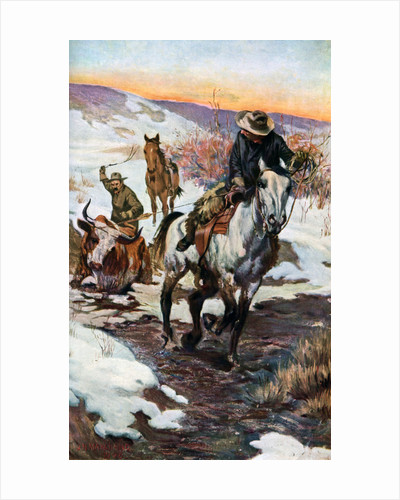 Winter Work for the Cowboys by Anonymous