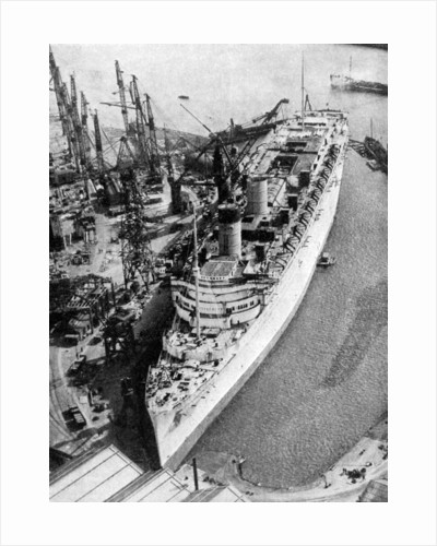 The ocean liner RMS 'Queen Mary', Clydebank, Glasgow by John Brown & Company