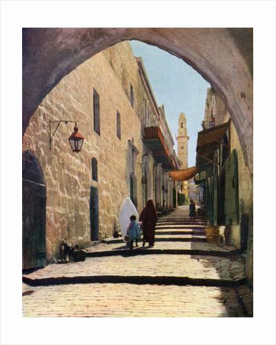 A street in Jerusalem, Israel by Anonymous