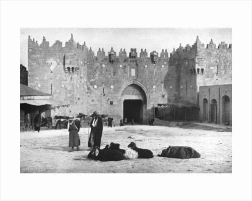 Damascus Gate, Jerusalem, Israel by Anonymous