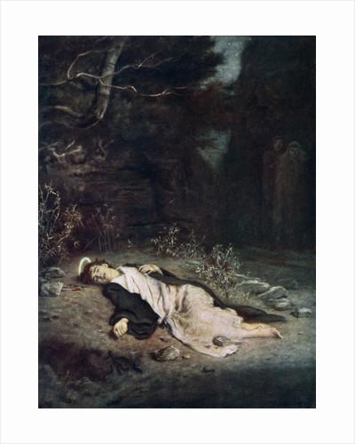 Saint Stephen by John Everett Millais
