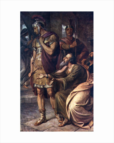 St Paul at Rome by Frederic Shields