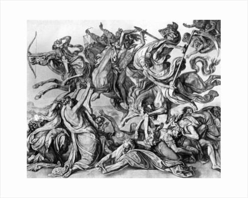 The Four Horsemen of the Apocalypse by Peter von Cornelius