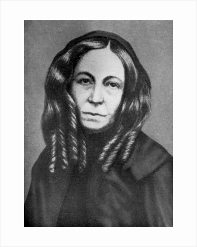 Elizabeth Barrett Browning (1806-1861), English poet by Anonymous