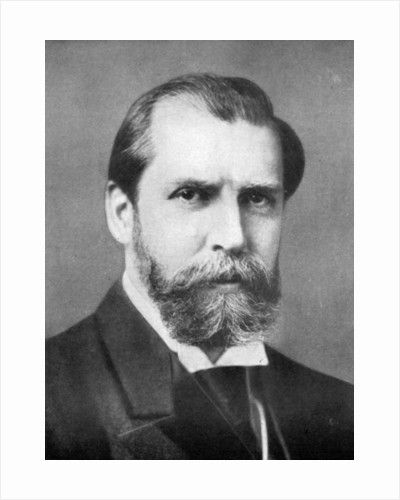 Charles Evans Hughes (1862-1948), American lawyer and politician by Anonymous