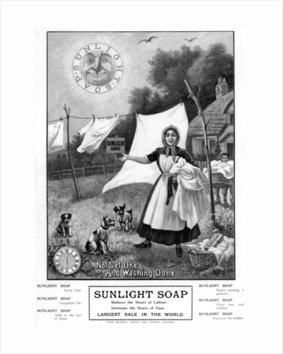 Advertisement for 'Sunlight Soap' by Anonymous