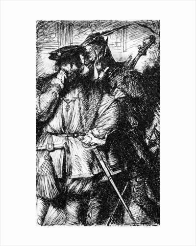 Mephistopheles and Faust by Edmund Joseph Sullivan